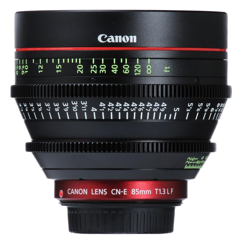 Ống Kính Canon CN-E85mm T1.3 L - Hàng Chính Hãng