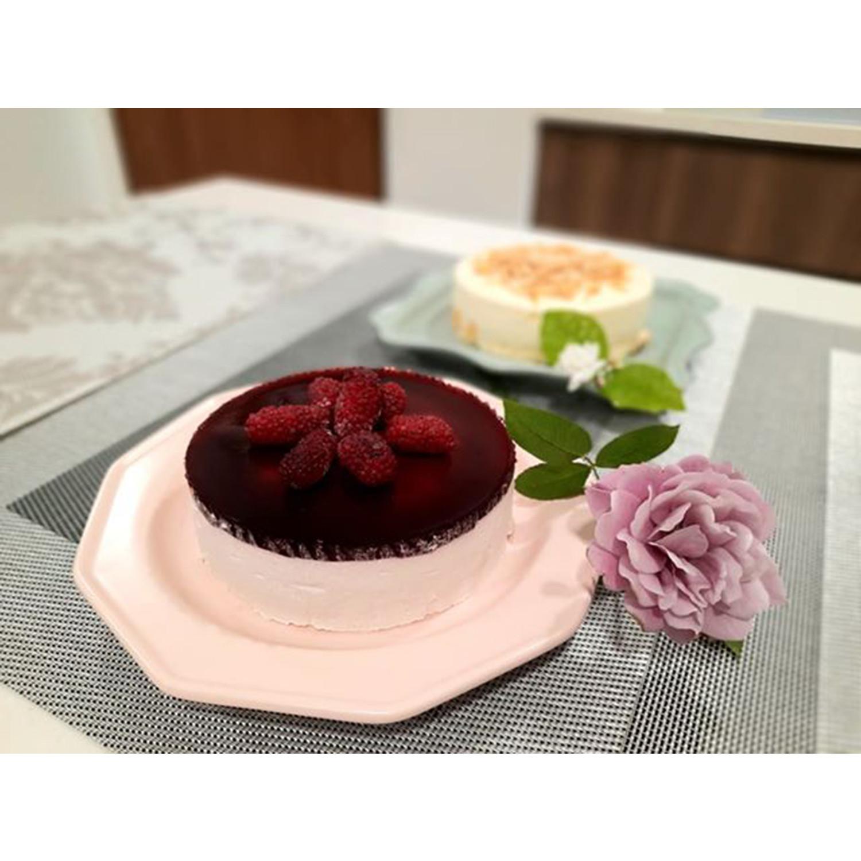 Set 2 đĩa làm bánh Hàn Quốc - Bella - Erato - Hàng nhập khẩu Hàn Quốc