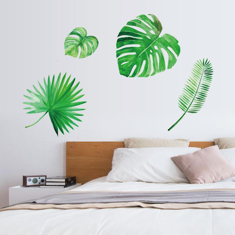 Decal Dán Tường - Green Art -SK7134
