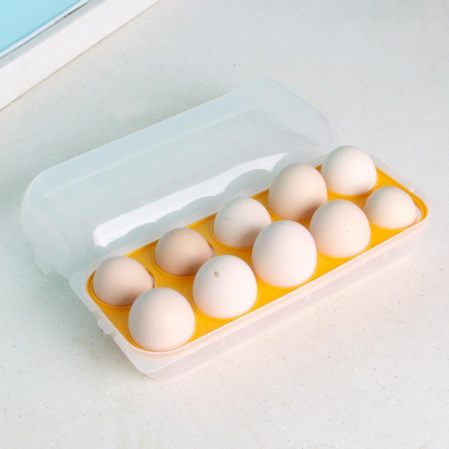 Hộp đựng trứng bảo quản trong tủ lạnh - Hàng Nội Địa Nhật