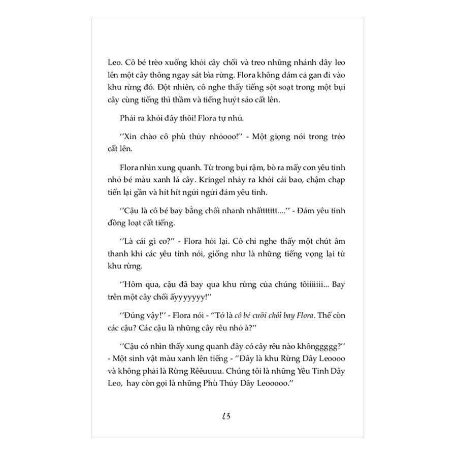 Flora Tia Chớp - Tập 1: Bí Mật Trong Khu Rừng Dây Leo
