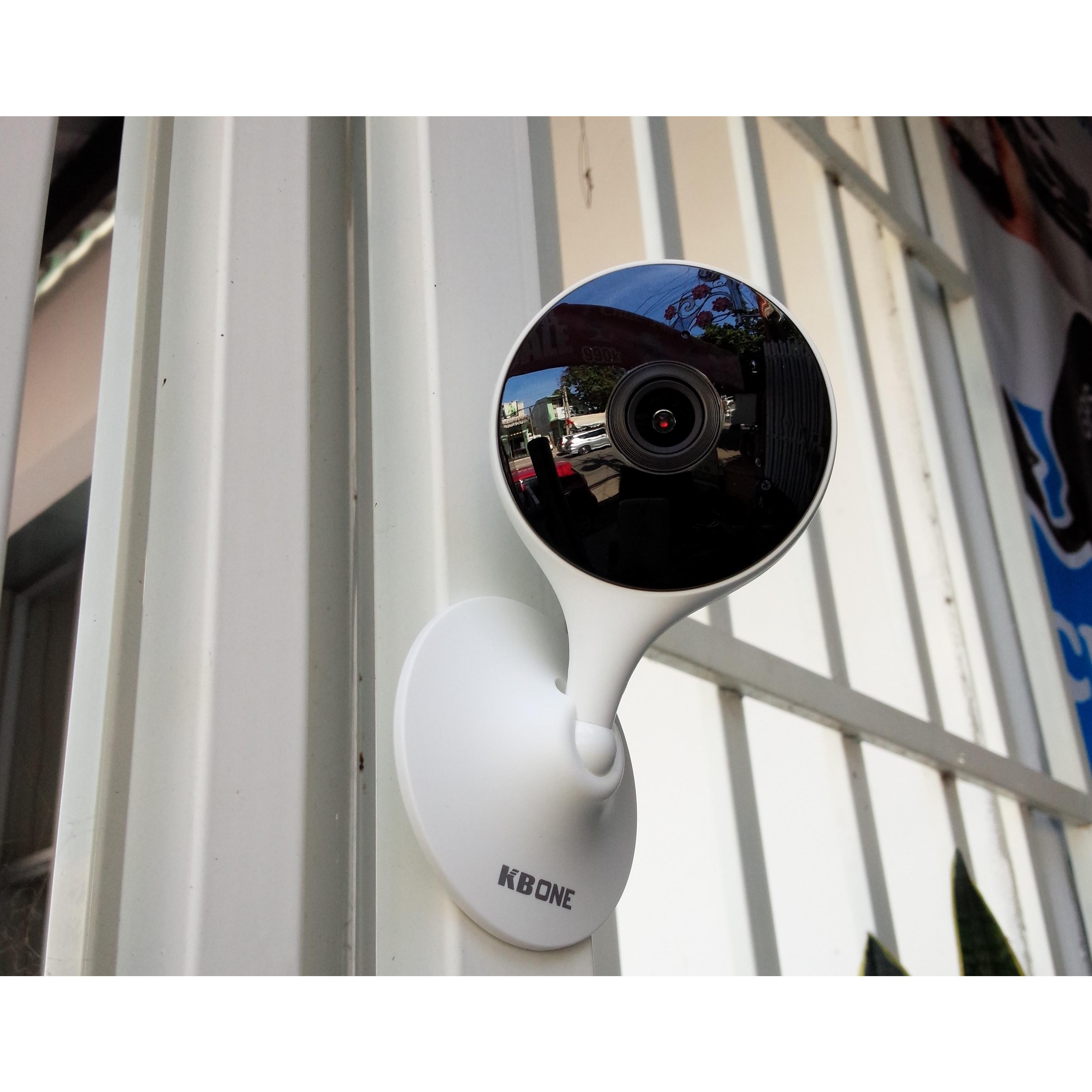 Hình ảnh Camera IP wifi KBVISION trong nhà - góc nhìn siêu rộng - nghe nói 2 chiều KBONE H21W - Hàng chính hãng