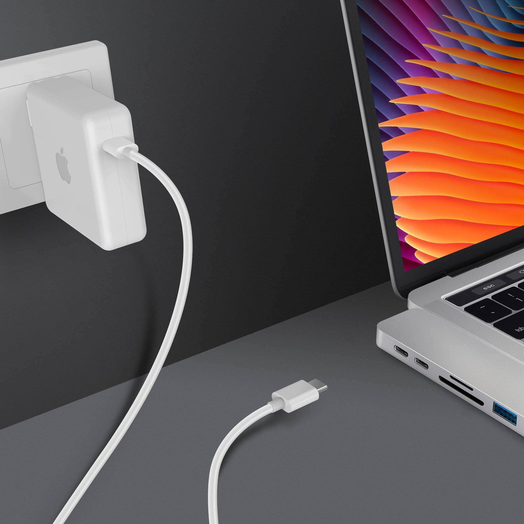 Cổng Chuyển HyperDrive Dual USB-C 7-in-2 Thunderbolt 3 Hub - (HD-GN28B) - Hàng Chính Hãng
