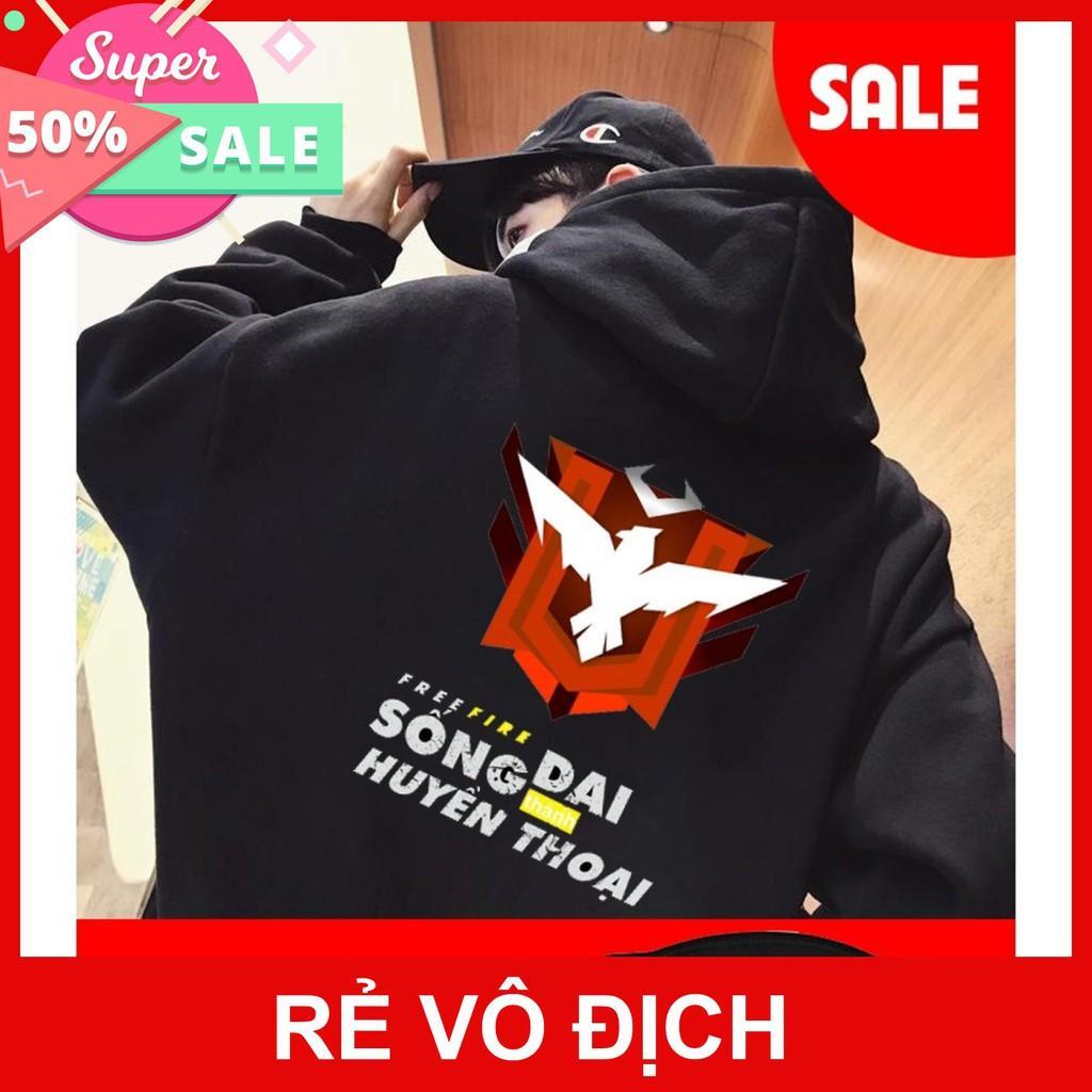 Áo khoác nỉ FREEFIRE - áo game Garena giá siêu rẻ nhất vịnh bắc bộ