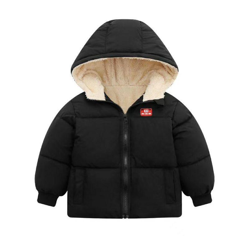 Áo phao lót lông cừu Quảng châu cao cấp cho bé