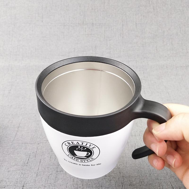 [LY GIỮ NHIỆT] Cốc Pha Cafe Dung Tích 330ml (màu ngẫu nhiên) - Tặng kèm muỗng cafe inox
