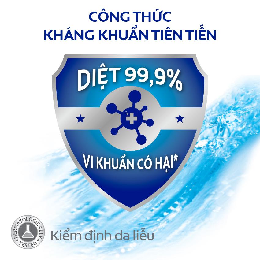 Bộ 2 sữa tắm Protex Icy Cool cực mát lạnh diệt khuẩn 99,9% 500ml/chai