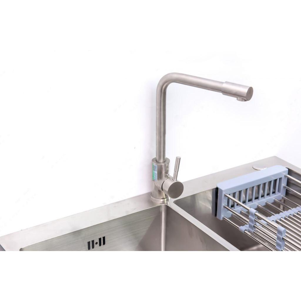 Vòi rửa bát inox nóng lạnh model Mg803