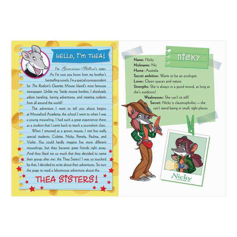 Thea Stilton Book 21: Thea Stilton And The Lost Letters