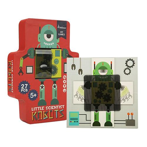 Đồ Chơi Giá Dục - Tranh Ghép Sáng Tạo Robot Chuyển Động