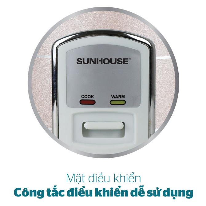 Nồi Cơm Điện Happytime Sunhouse HTD-8172 (1.2L) - Hàng Chính Hãng