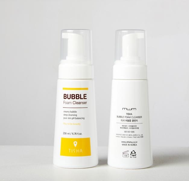 Sữa Rửa Mặt Tạo Bọt Tisha Bubble Foam Cleanser (200ml)