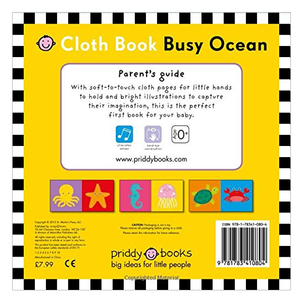 Busy Ocean: My First Priddy - My First Priddy (Rag book)