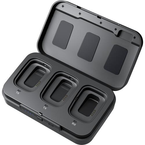 Micro Thu Âm Không Dây Saramonic Blink 500 Pro B2 (TX + TX + RX) 2 Phát + 1 Thu - Chính hãng