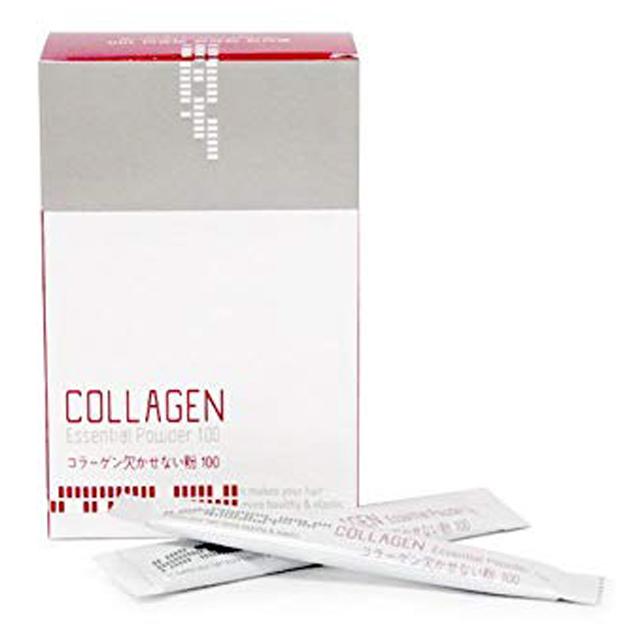 Bột Thảo dược sử dụng khi Uốn, Ép, Nhuộm Mugens Collagen Hàn Quốc (20 gói) + Móc khóa