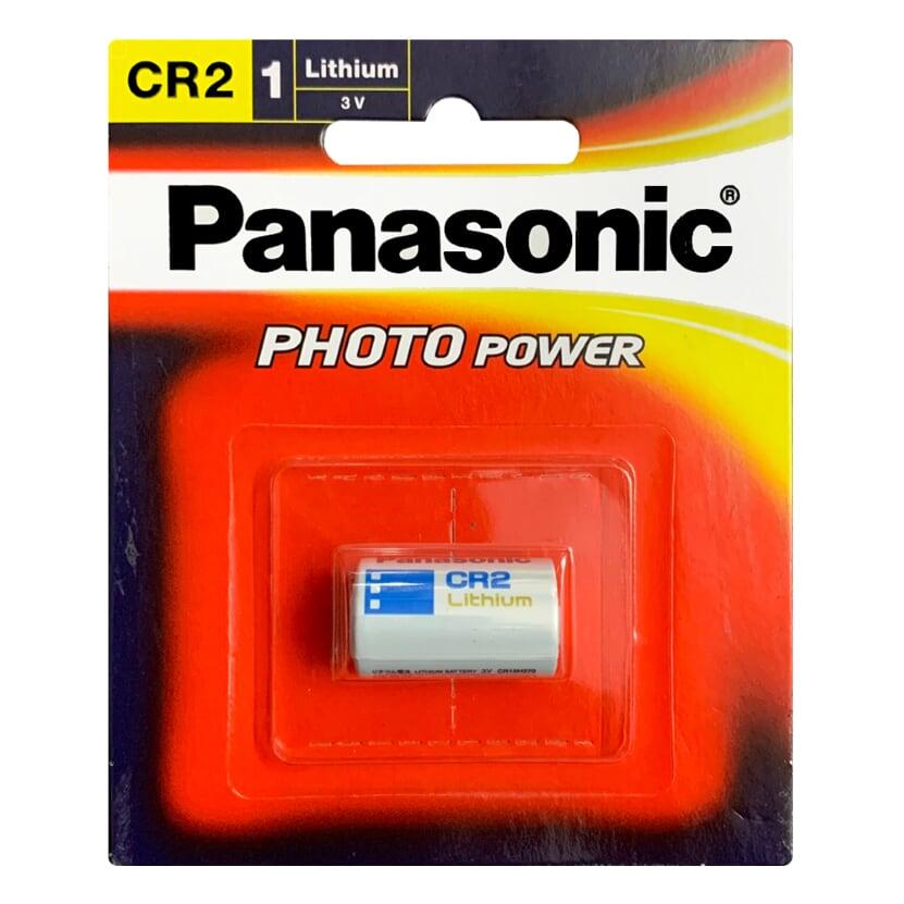 Pin CR2 Panasonic Lithium Photo Power 3V chính hãng vỉ 1 viên