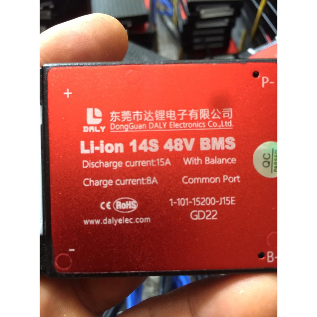 Mạch bảo vệ pin lithium Li On 14S 48V 15A