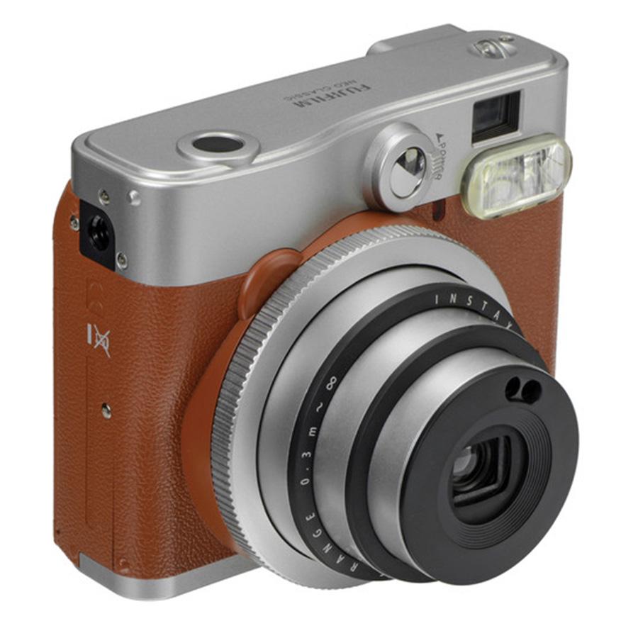 Máy Ảnh Fujifilm Instax Mini 90 Neo (Nâu) - Hàng Chính Hãng