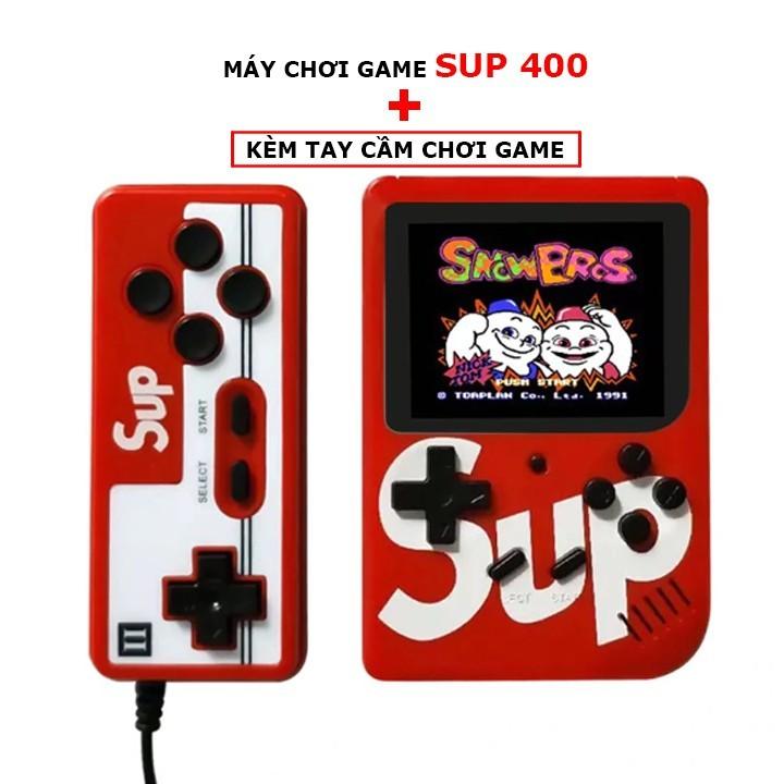 MÁY CHƠI GAME SUP BOX 400 IN 1 PLUS TẶNG 1 TAY CẦM HỖ TRỢ 2 NGƯỜI CHƠI