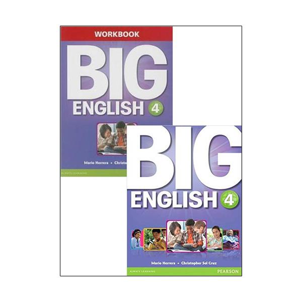 Big English 4 Sb W/Stix + Wb W/Audio