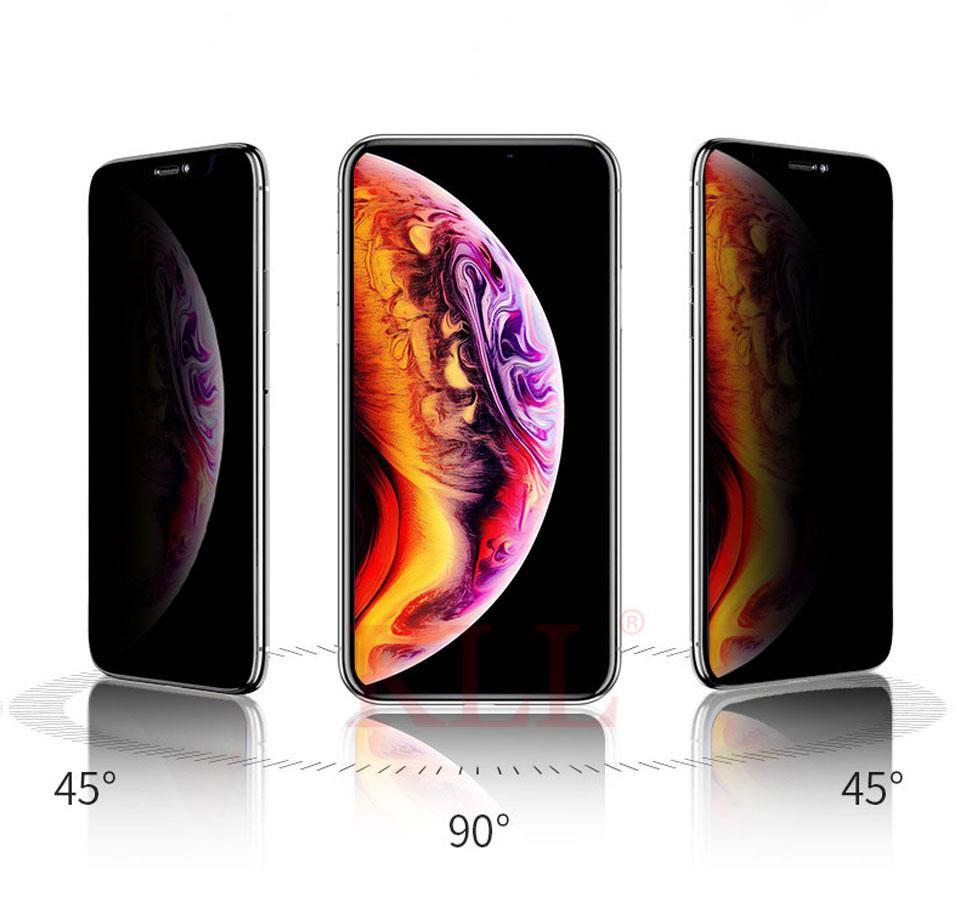 Dán kính cường lực chống nhìn trộm dành cho iPhone X / Xs