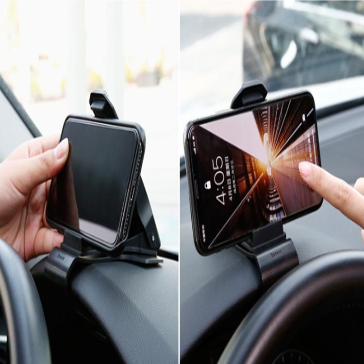 Giá đỡ điện thoại Baseus gắn taplo ô tô dạng kẹp SUDZ-01 - Hàng nhập khẩu