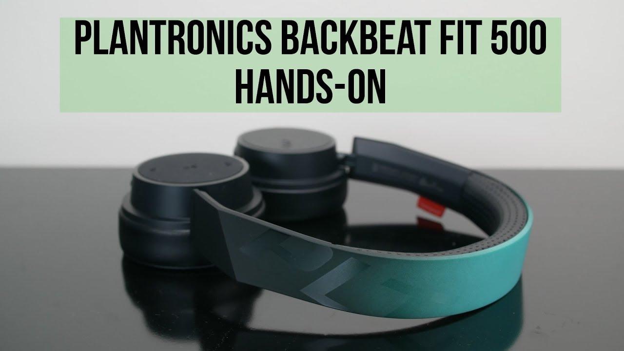 Tai nghe Bluetooth Plantronics BackBeat FIT 505 (Xanh phối Đen) - Hàng Chính Hãng
