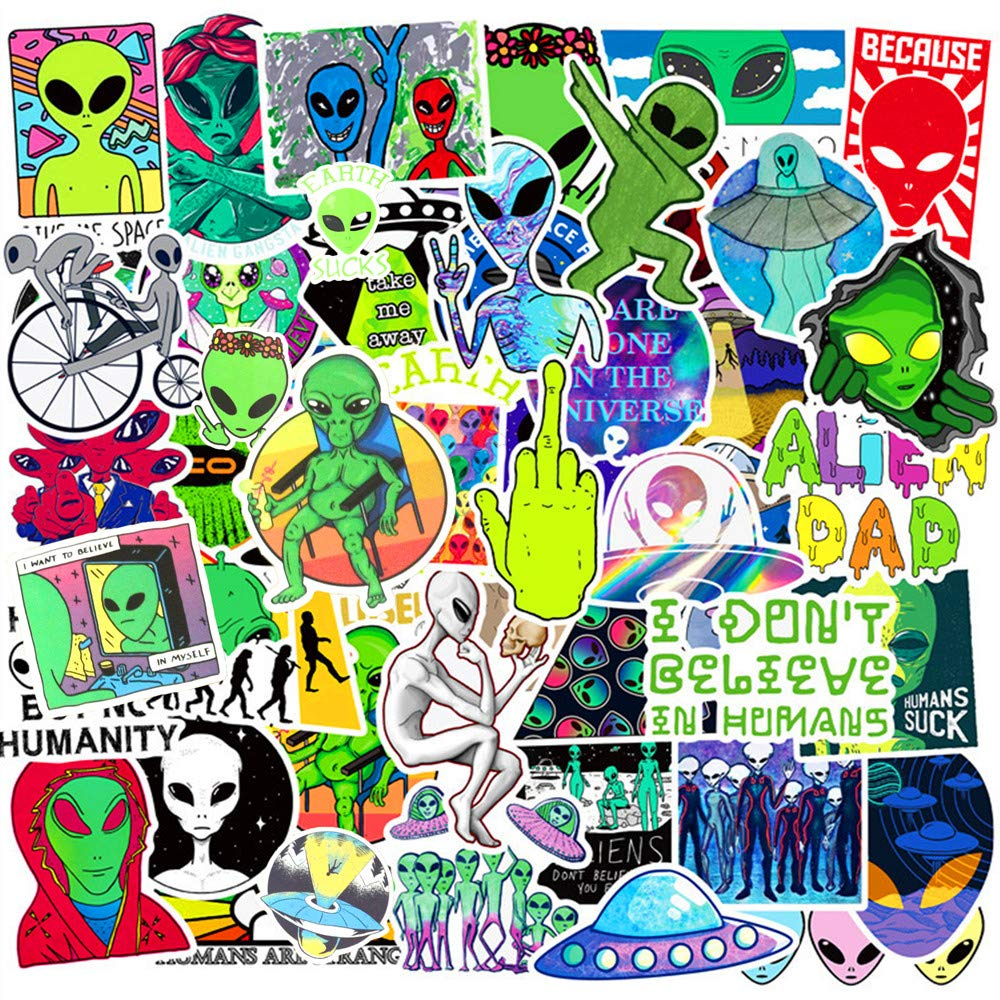 Set 30 Sticker Alien