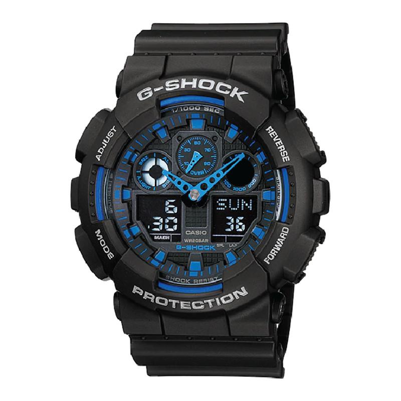 Đồng hồ Casio Nam G Shock GA-100-1A2DR-TH
