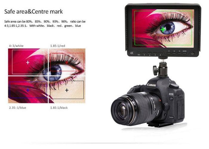 Màn hình Bestview S7 7inch FULL HD/4K cổng HDMI hàng chính hãng.