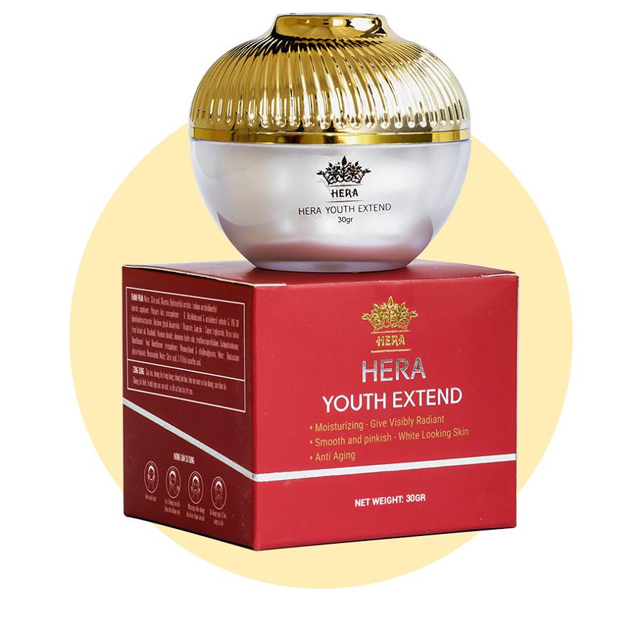 3 hộp Kem dưỡng trắng da ngăn ngừa  lão hóa Hera Youth Extend