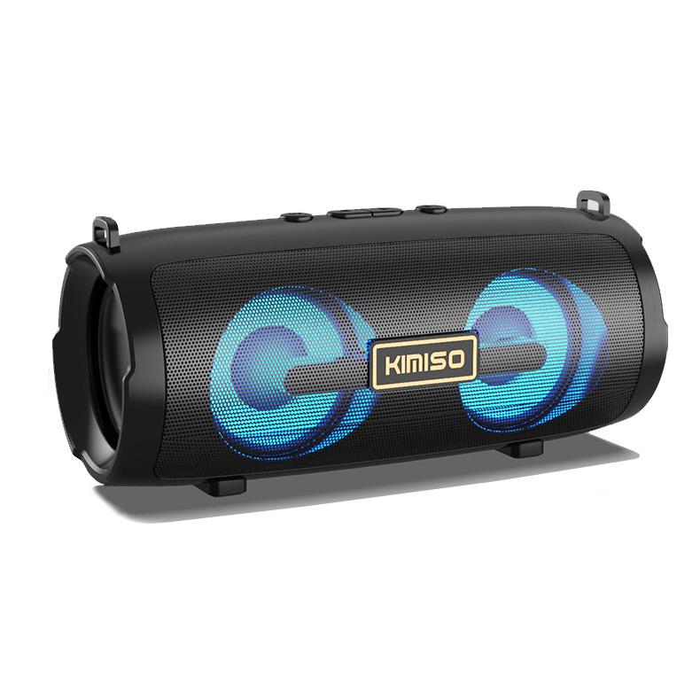Loa bluetooth mini KIMISO KMS-225 soundbar hỗ trợ FM/AUX/USB/TF - kèm dây đeo (màu ngẫu nhiên) Hàng Nhập Khẩu