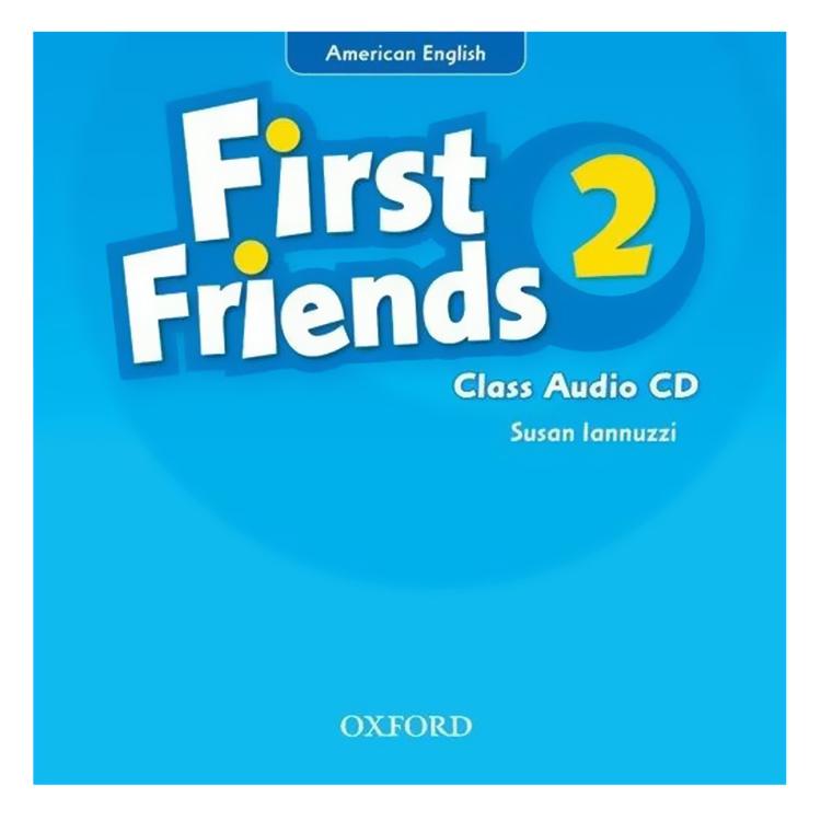 First Friends (Ame) 2 Class Audio CD