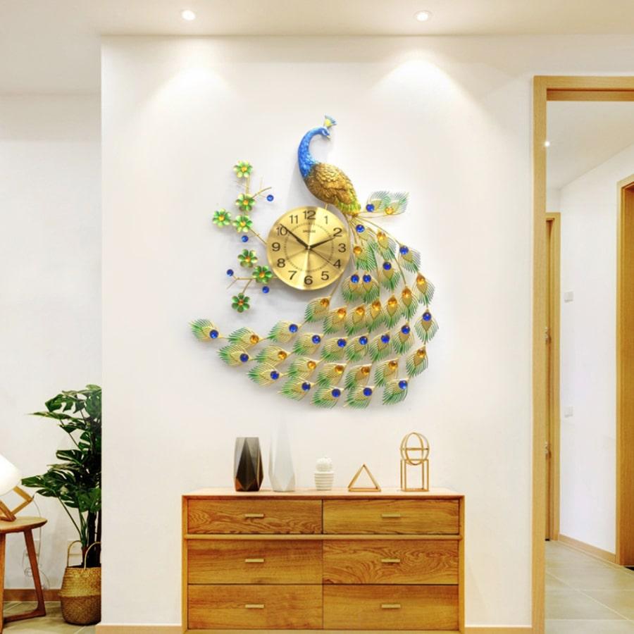 Đồng Hồ Treo Tường S-A68 Trang Trí độc lạ đẹp hiện đại cao cấp cỡ lớn 3d phù hợp phòng khách, phòng ngủ