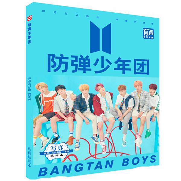 Tập ảnh BTS Photobook A5 thiết kế độc đáo in hình nhóm nhạc Hàn quốc