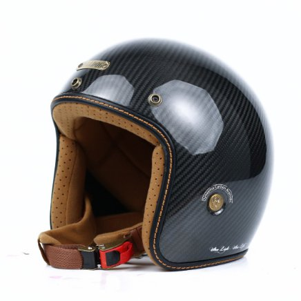 Mũ 3/4 Bulldog Heli Carbon