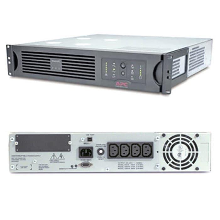 Bộ lưu điện APC Smart-UPS 1000VA USB & Nối tiếp RM 2U 230V - Hàng chính Hãng