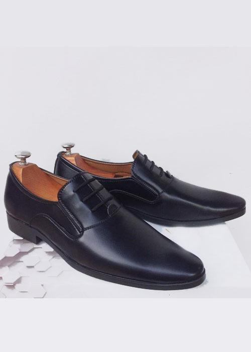 Giày tây nam công sở kiểu giả cột dây-AT002