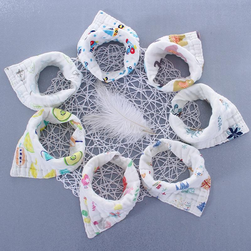 Set 3 Khăn yếm quàng cổ 6-8 lớp cho bé