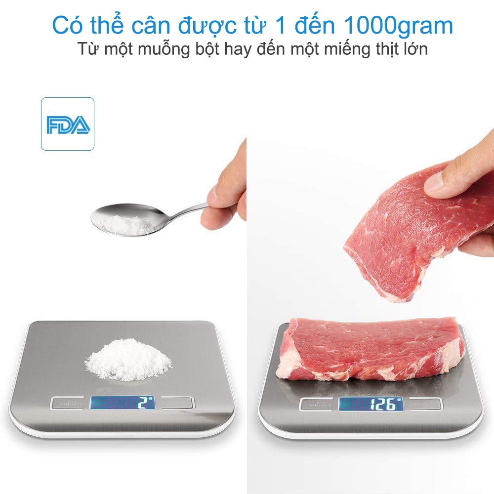 Cân điện tử nhà bếp 10kg DL-001