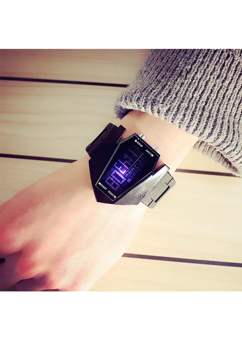 Đồng hồ Led nhiều màu nam nữ unisex thời trang DH80