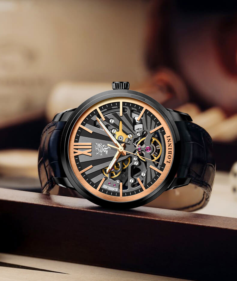 Đồng hồ nam  LOBINNI L15011-1 Chính Hãng Thụy SỸ