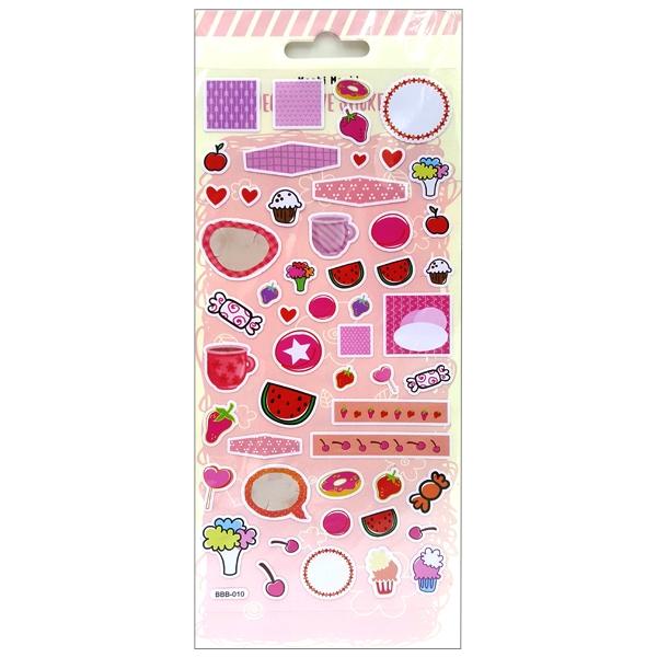 Sticker Moshi 003 - Mẫu 1