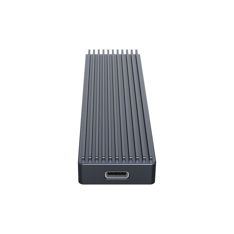 Hộp Đựng Ổ Cứng ORICO M2PJ-C3-GY (Xám) SSD NVME M.2 Tốc độ 10Gbps - Hàng Chính Hãng