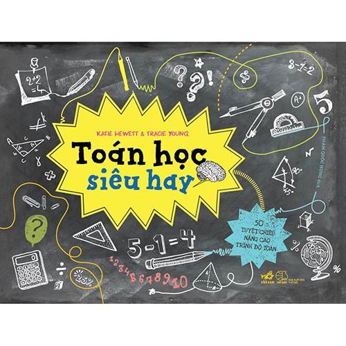 Sách - Bộ Cool Series - Toán Học Siêu Hay (tặng kèm bookmark thiết kế)
