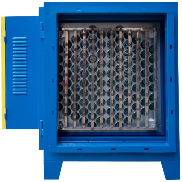 Máy lọc tĩnh điện xử lý khí thải công nghiệp 4000 m3/h dòng cao cấp Rama RS4000 - Hàng Chính Hãng