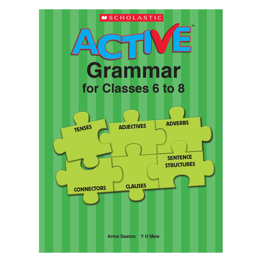 Active Grammar For Classes 6-8