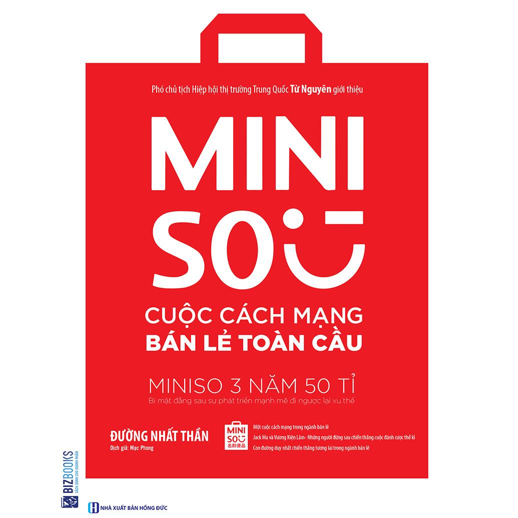 Miniso - Cuộc Cách Mạng Bán Lẻ Toàn Cầu ( tặng kèm bút tạo hình ngộ nghĩnh )