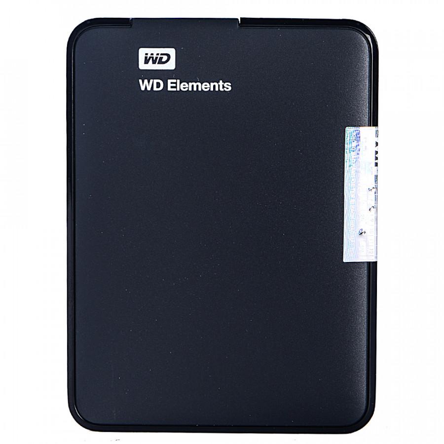 Ổ Cứng Di Động WD Elements 750GB WDBUZG7500ABK-WESN 2.5 USB 3.0 - Hàng Chính hãng