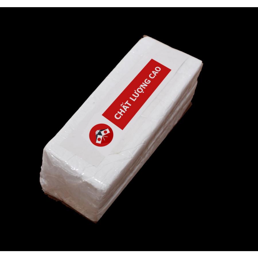 Đất Sét Polymer Clay - Đất Nặn Thế Hệ 2 Siêu Thông Minh - MÀU TRẮNG 1 cục 500 Gram
